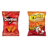 CHEETOS and DORITOS chips (Assorted flavours) - 1