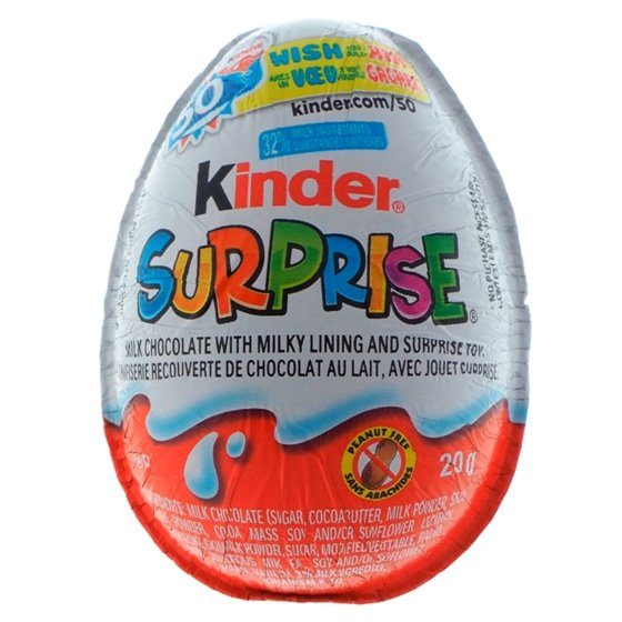 Chocolats Kinder SURPRISE