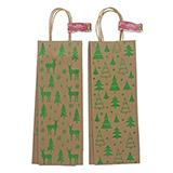 Paquet de 2 sacs pour bouteille de vin - 3