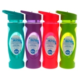 Water Bottle with Straw and Handle (Assorted Colours) - 1