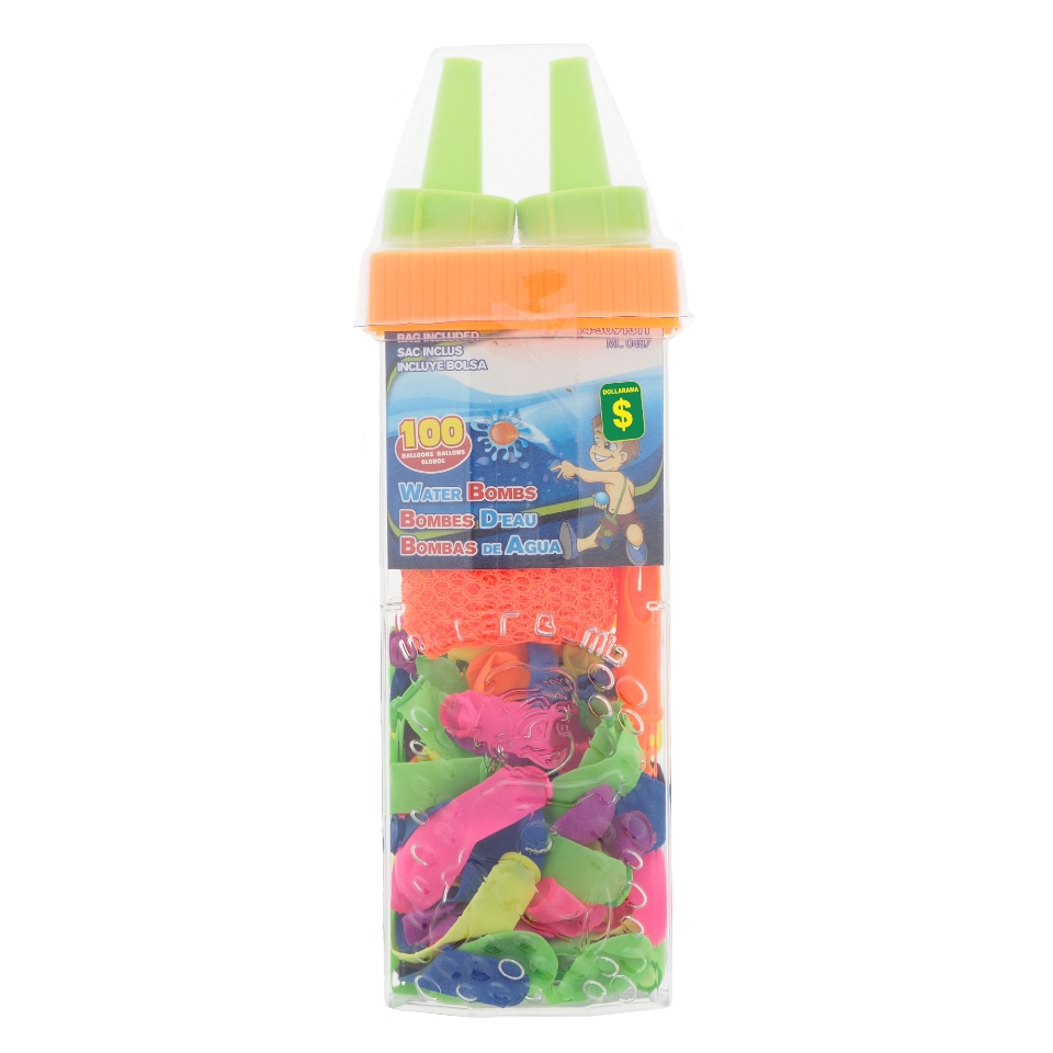 100Pk Water Balloons in a Container