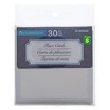 30PK Wedding Place Card With Embossment - 0