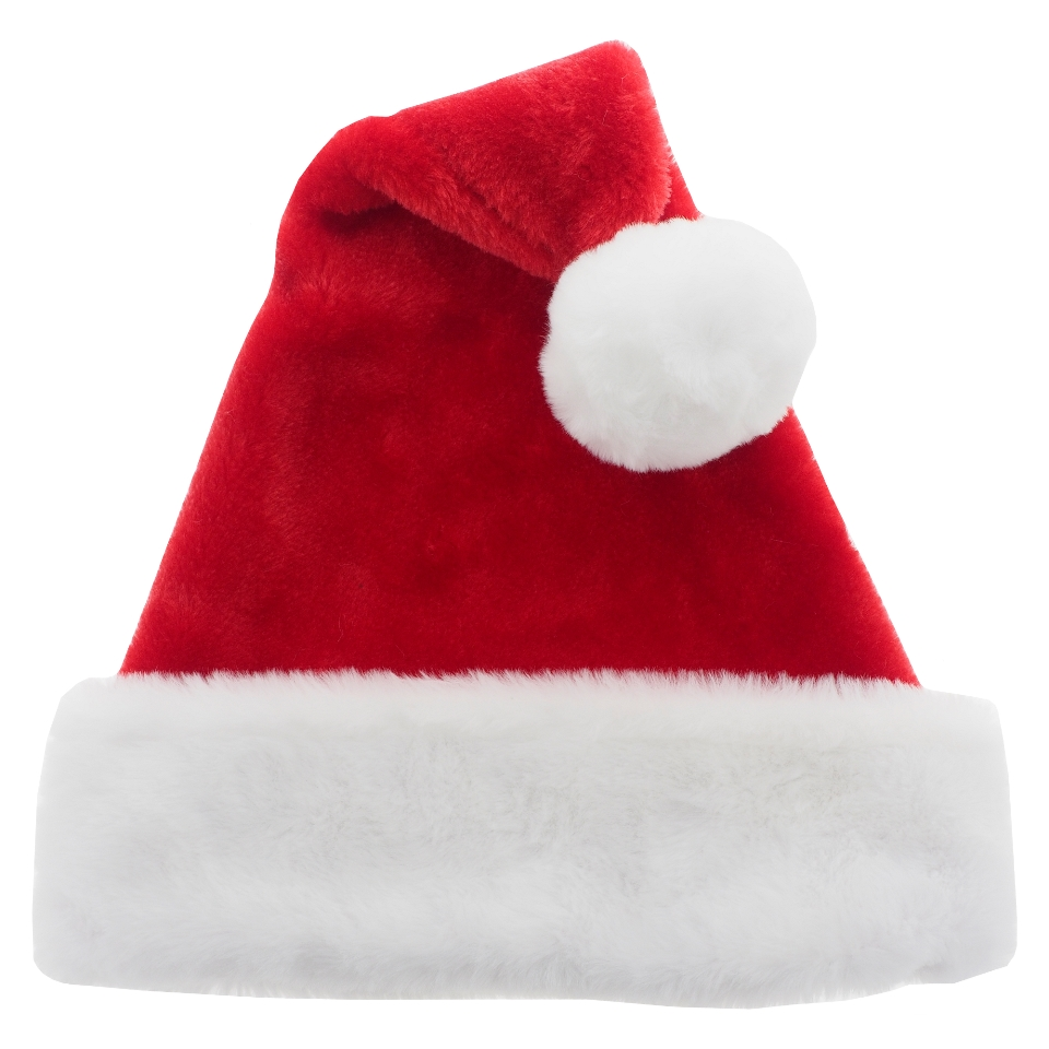 Premium Plush Santa Hat