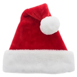 Premium Plush Santa Hat - 0