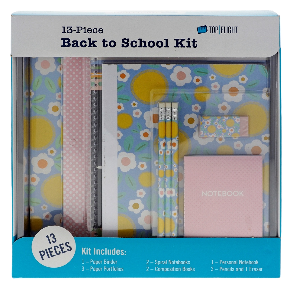 Back to School 13 pieces Kit