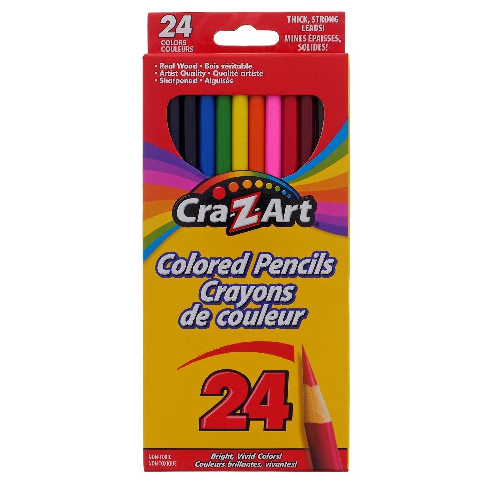 Paquet de 24 crayons de couleurs