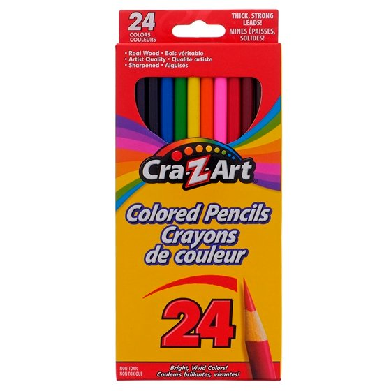 24PK Coloured Pencils