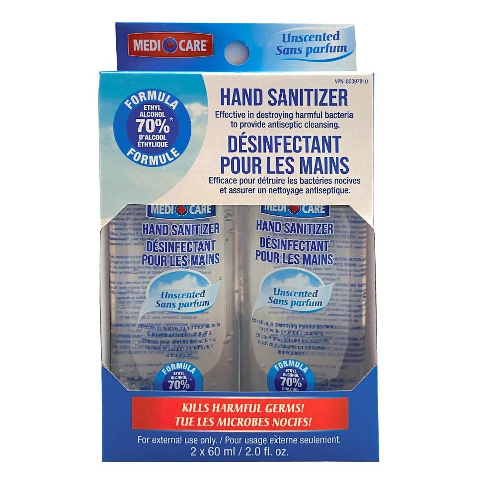 Medicare Hand Sanitizer - 2 X 60ml