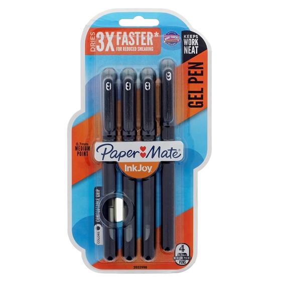 Paquet de 4 stylos avec capuchons