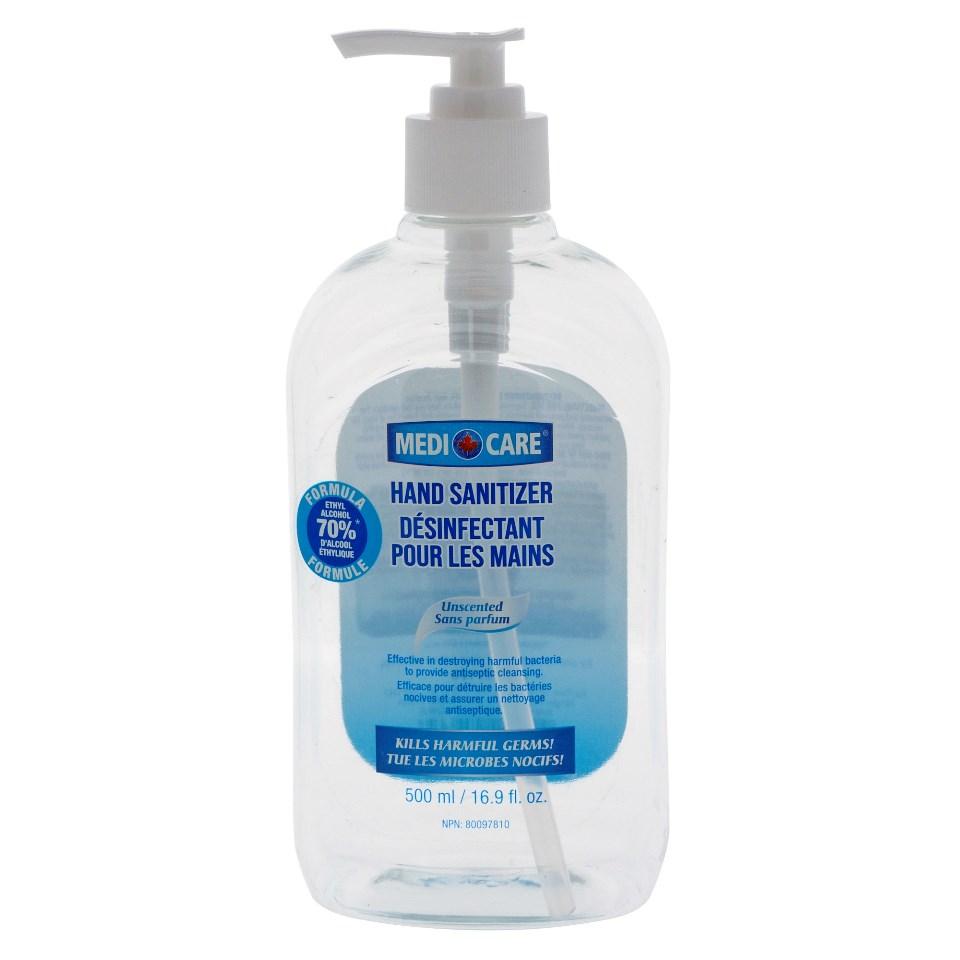 Hand Sanitizer with Pump - 16.9 oz