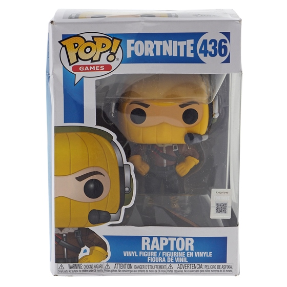 FUNKO-Pop figurine Raptor de Fortnite
