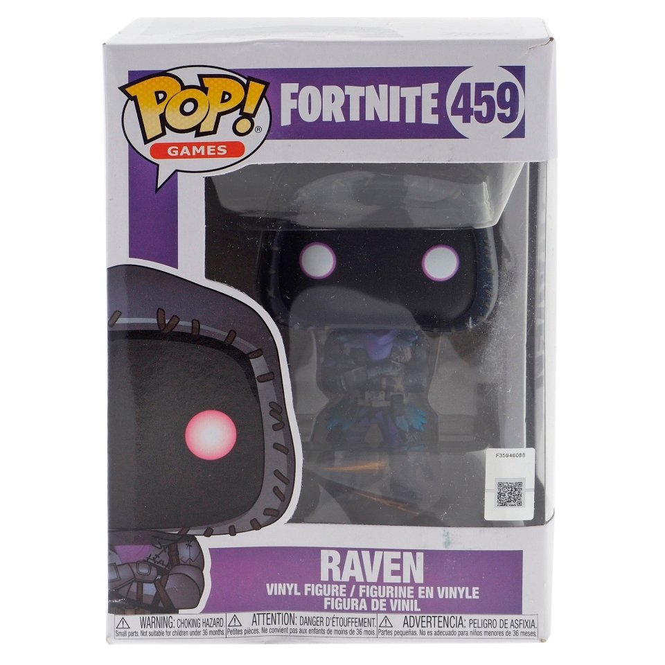 FUNKO-Pop Fortnite Raven Figure