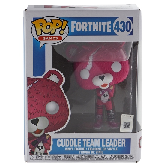 FUNKO-Pop Fortnite Cuddle Team Leader figure