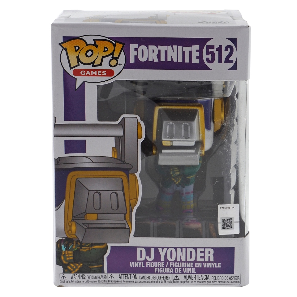 FUNKO-Pop figurine DJ Yonder de Fortnite