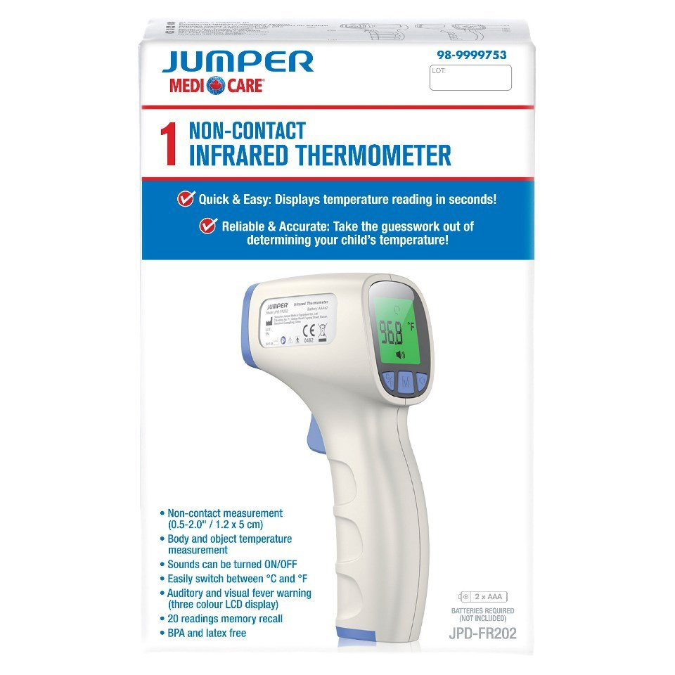 Jumper Infrared Thermometer