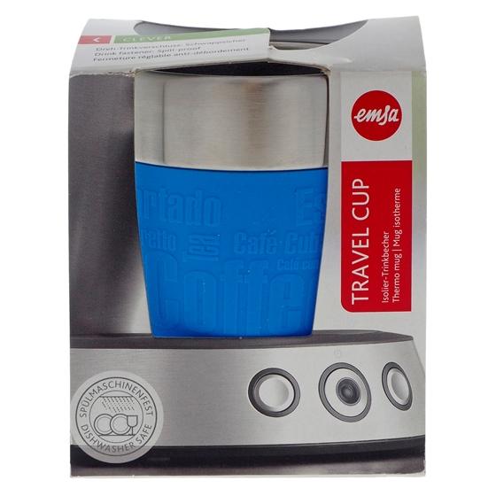 Tasse de voyage bleue Esma - 6.8 oz