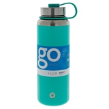 Mint green double wall vacuum insulated bottle - 40 oz - 0