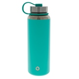 Mint green double wall vacuum insulated bottle - 40 oz - 1