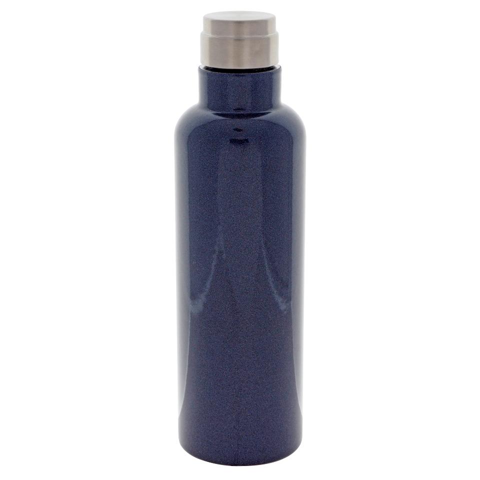 Bouteille Bleu Marine avec bouchon à vis - 20 oz
