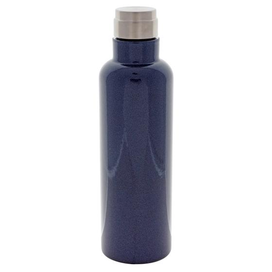 Screw Top double wall vacuum Navy bottle - 20 oz