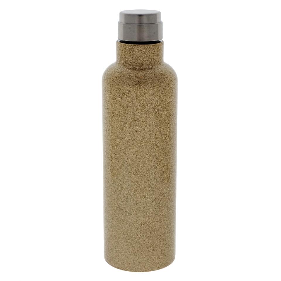Screw Top double wall vacuum Gold bottle - 20 oz
