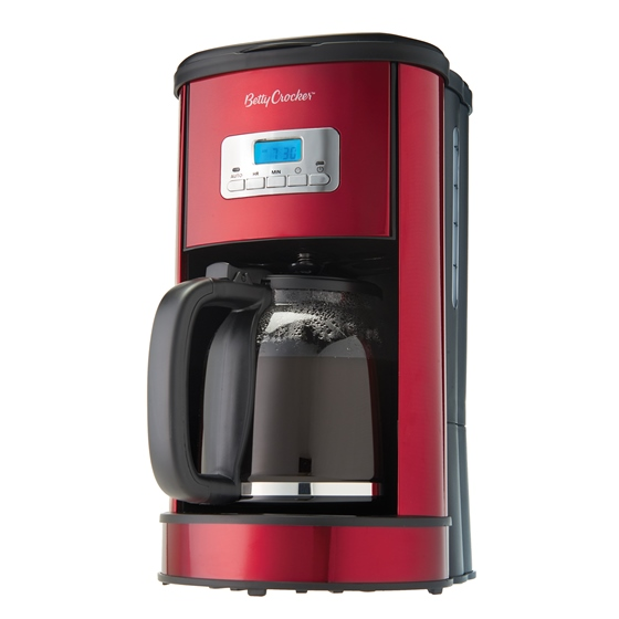 Betty Crocker Digital Coffee Maker - 12 Cups