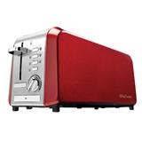 Betty Crocker Stainless Steel 4 Slice Toaster - 1