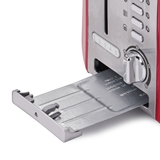 Betty Crocker Stainless Steel 4 Slice Toaster - 3