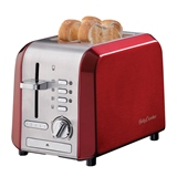 Betty Crocker Stainless Steel 2 Slice Toaster - 0