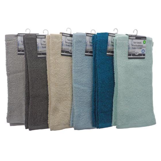 4PK Cotton Facecloth