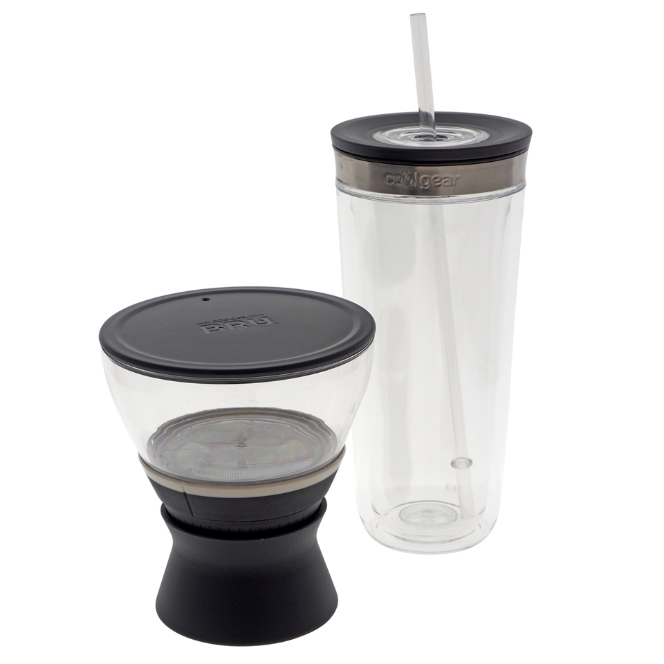 COOL GEAR Cold brewer and tumbler