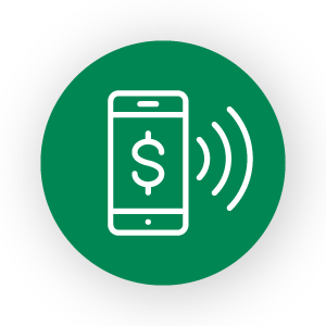 Pay in-store icon